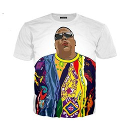 2154c44ea5d Newest Men Womens Funny Rapper Tupac 2pac Notorious B.I.G. Biggie Smalls 3D  Print T Shirt Summer Tops Different Sizes Hip Hop Style U1295