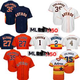 cb03f818f Alex 2 Bregman jerseys Astros 27 Jose Altuve Houston jersey Astros 4 George  Springer 35 erlander 1 Carlos Correa