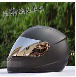 Full Carbon Fiber Car Australia - The new personality cool run a helmet Classic motorcycle helmet Full face electric cars to winter