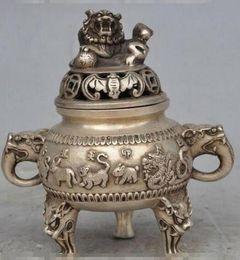 Brass Happy Buddha Australia - Polished copper incense burner Brass 12 Zodiac Pure copper incense burner Kirin incense Buddha supplies ornaments
