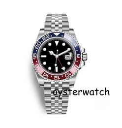 Fast locks online shopping - Luxury Mens Gift Watch Deep Ceramic Bezel Stainless Steel Watch movement Mens Watch fastest Arrival Glide Lock Clasp Automati