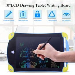 $enCountryForm.capitalKeyWord Australia - 8.5 inch Colorful LCD Design Writing Tablet Portable Mini Electronics Graphic Drawing Board Handwriting Pad For Children Toys