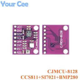 module three NZ - ntegrated Circuits CCS811+SI7021+BMP280 Sensor Module Carbon Dioxide CO2 Temperature and Humidity Height Three-in-one CJMCU-8128 Weather ...