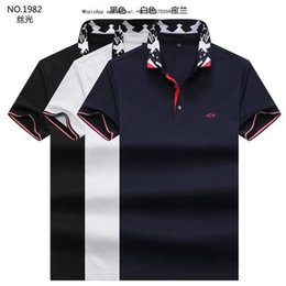 Cotton Thermal Wear Australia - New Modle Customized Men's Wear Character T T-shirt Summer Male Style Casual LoosenT-shirt Lapel Short Sleeve POLO