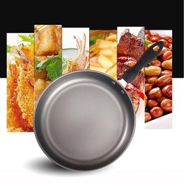 $enCountryForm.capitalKeyWord Australia - 26cm Stainless Steel Frying Pan Cooking Pot Gas Grill Pan Teflon Coating Non -Stick Skillet Pan Kitchen Pots And Pans Saucepan