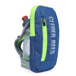 Sports Wrist Pouch UK - Outdoor Sports Running Accessories Phone Bag Men Hand Pack Running Wrist Money Pouch Trail Women Handheld Water Bottle #109737