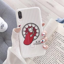 $enCountryForm.capitalKeyWord Australia - YunRT Fashion US Brand Kaws Bear 3D Suitcase Cover Case For Apple iPhone 8 7 6 6S Plus X XS Max XR Air Big tongue Hard Support Stand