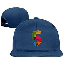 f60173925ec Professional Unisex Snapback Adjustable Truck Cap Sports Travel Hat Natural  Digital 5 Color Design Baseball Flat Hat(2)