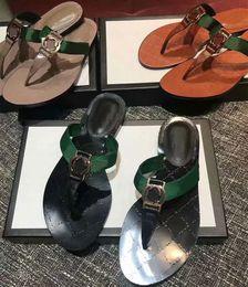 35637590cdda Luxury Slippers Women thong Web sandal Casual Handmade black white brown  Walking Tennis Sandals Green and red Slippers Mules Slides Thongs