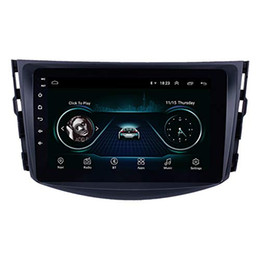 rav4 gps UK - 8 inch Android 9.0 Car Radio GPS Navigation system for 2007-2011 Toyota RAV4 with Bluetooth WIFI 1080P DVR support DVR OBD II