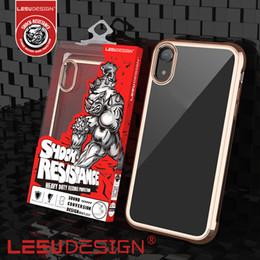 LEEU DESIGN almofada de ar à prova de choque gel tpu celular telefone celular casos capa para iphone xs xr xs max 5.8 6.1 6.5 x 7 8 plus venda por atacado