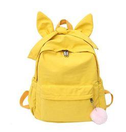 $enCountryForm.capitalKeyWord UK - Junior high school schoolbag Korean version Baitao Japanese cute girl pupil backpack net Hongins super-hot shoulder bag