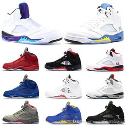 Prince Black Australia - Laney 2013 5s Camo Wings 5 Mens Basketball Shoes V Fire Red Suede Black Metallic Saint Germain FRESH PRINCE 2019 Athletics Designer Sneakers