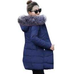 Womens Parkas Australia - 2019 Winter Jacket Women 5XL Plus Size Womens Parkas Thicken Outerwear hooded Winter Coat Female Jacket Cotton padded basic tops T190610