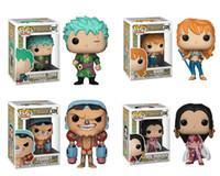 One Piece Figure Hancock Australia - Adorable Funko POP Anime: One Piece Zoro Nami Franky Boa. Hancock Vinyl Action Figure With Box Toy