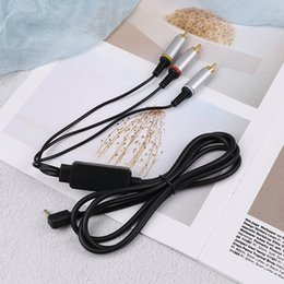 $enCountryForm.capitalKeyWord Australia - 1pc Audio Video AV Cable to RCA Extension Composite Data Cord for PlayStation Portable PSP 2000 3000 Slim To TV Monitor