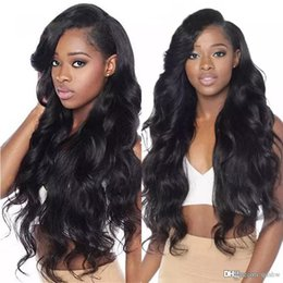 front layered hair Australia - Fake Scalp Lace Front Wigs Wet Wavy With Baby Hairs Brazilian Virgin Hair Wavy Glueless Human Hair Lace Wig Pre Plucked Bleached Knots