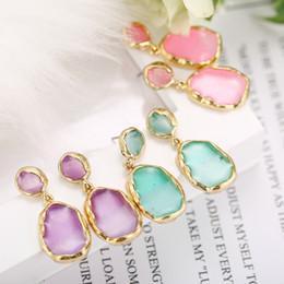 Alloy epoxy online shopping - Wedding Accessories Simple Pink Epoxy Drop Earrings Cute Stylish Fruit Green Earrings Very Good Low key Playful Earrings