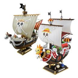 Ingrosso 28 centimetri Anime One Piece Thousand Sunny Meryl azione barca Pirate Ship Figura PVC Figure Giocattoli da collezione Modello Toy Gifts