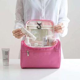 Hand Hooked Bag Australia - Cosmetic Bag 201 New Fashion Trend Travel Acceptance Bag Lady Large Capacity Washing Bag Waterproof Cloth Hand-held Hook