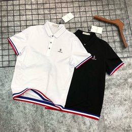 Tee Designs NZ - 19ss Summer Design luxurious Leisure time mo Polo Shirts Short Tee Sleeve Breathable Men Women Fashion Outdoor Streetwear T-shirts