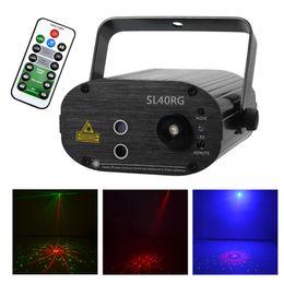 $enCountryForm.capitalKeyWord Australia - AUCD Remote Mini 3W LED Lights 40RG Red Green Laser Stage Projector Effect Sound Active Stage Lighting SL40RG