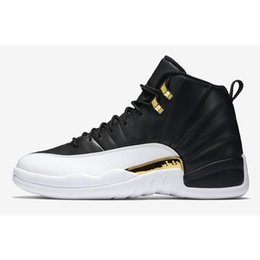 70161cc81719 Winterize 12 Gym Red 12s College Navy men basketball shoes Michigan WINGS  bulls Flu Game the master black white taxi Sports trainer sneaker