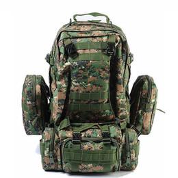 $enCountryForm.capitalKeyWord NZ - High Quality 50l Large Capacity Bagpack Molle Military Backpack Multifunctional Waterproof Men Backpack Rucksack Bag For Travel Y19061102