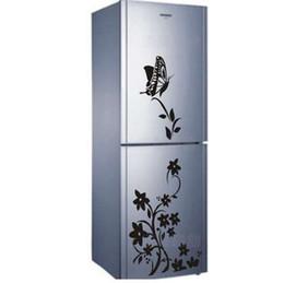 $enCountryForm.capitalKeyWord Australia - new hot Superior quality butterfly flower vine family decorative wall stickers stickers Home Furnishing Decor refrigerator