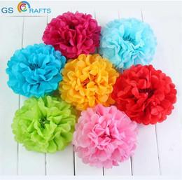 $enCountryForm.capitalKeyWord NZ - 2017 New Cheap 10cm 10pcs lot Tissue Paper PomPom Lantern Flowers Balls Kids Birthday Wedding Baby Shower Party Decorations