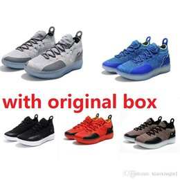 7e55002dee6a Cheap new Women KD 11 shoes basketball for sale MVP BHM mens Kevin Durant Xi  low kids boys boots sneakers with original box