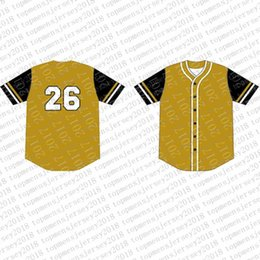 Discount jeter jersey cheap - Top Custom Baseball Jerseys Mens Embroidery Logos Jersey Free Shipping Cheap wholesale Any name any number Size M-XXL 87