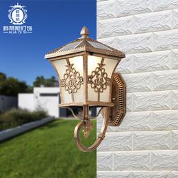 $enCountryForm.capitalKeyWord Australia - Solar Wall Lamp Outdoor Wall Lamp Outdoor Lamp Initial Light Door Post Villa Waterproof Courtyard light Garden Household