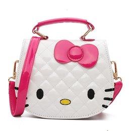bc261faa1c68 New Young Girls Bag Crossbody hello kitty Bags For Baby Girls Pick PU  Children Shoulder Bag Fashion Small Kids Princess Handbag