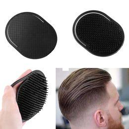 $enCountryForm.capitalKeyWord Australia - Men New Hair Comb Massage Massager Plastic Brush Shampoo Scalp Shower Body Washing Fashion Black Combs