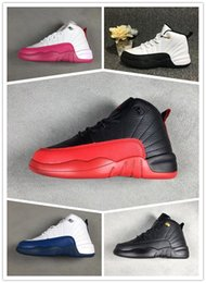 $enCountryForm.capitalKeyWord NZ - Hot new 12 Kids Shoes Children J12s Basketball Shoes High Quality Sports Shoes Youth boys girls Sneakers For Sale Size: US11C-3Y EU28-35