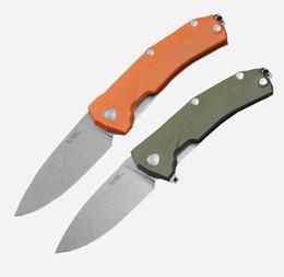 Knives italy online shopping - Italy LionSteel KUR Folding Sleipner HRC Stonewash Blade Knife Styles Titanium alloy Clip Pocket Camping Tools Tactical EDC Knives P822R
