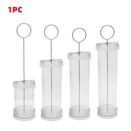 candle fragrances Australia - Candle Mold Transparent Home Fragrance Party Supplies Crafts Non Toxic Plastic Handmade Tools Proposal Occasion DIY Cylindrical Candles
