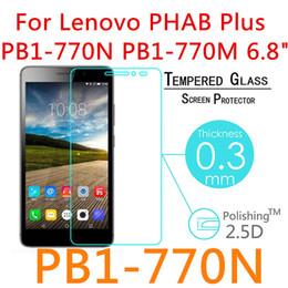 Lenovo phab online shopping - 5pcs For Lenovo Phab Plus PB1 N PB1 N quot Screen Protector Tablet Film Guard Front Transparent Glass H