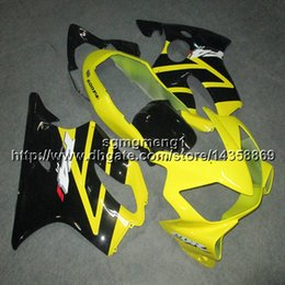 $enCountryForm.capitalKeyWord Australia - 23colors+Gifts Injection mold yellow Body Kit motorcycle panels for HONDA CBR600F4i 2004-2007 CBR600 F4i 04 05 06 07 ABS motorcycle Fairing