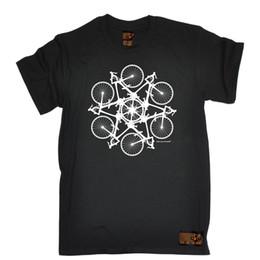 $enCountryForm.capitalKeyWord Australia - Bicycle Circle Kaleidospoke T-SHIRT Cycling Bike Cyclist Bmx birthday gift Men Women Unisex Fashion tshirt Free Shipping