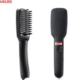 $enCountryForm.capitalKeyWord Australia - Multifunctional Brush Beard Straightener Straighten Straightening Comb Curler Quick Hair Styler For MenMX190821