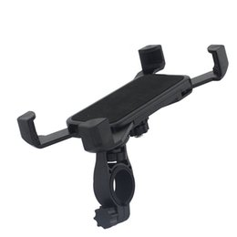 cell phone mounts for motorcycles UK - Motorcycle Bicycle MTB Bike Phone Holder Adjustable Handlebar Mount Holder Shockproof Support Band Universal For Cell Phone GPS #25967