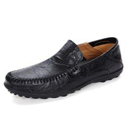 $enCountryForm.capitalKeyWord Australia - 24 styls Designer genuine leather Luxury Casual Shoes lace-up or Slip-On men's suit shoe Dress Shoes breath Driving Car Shoes big size