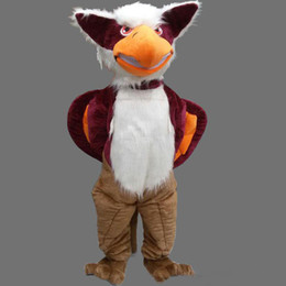 Eagle Fancy Dress NZ - Adult size Animal Griffin mascot custom Xmas Eagle Male fancy dress costume Shool Event Birthday Party Costume Mascot
