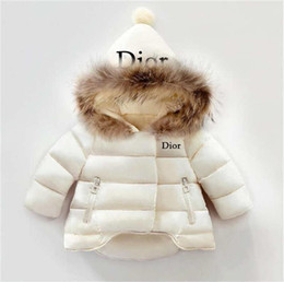 Boys hair styles online shopping - DlOR Kids Coat Baby Boys And Girls Winter Coat Size T Childrens Winter Coar Colors Kids Down Cotton Coats Rabbit Hair Collar