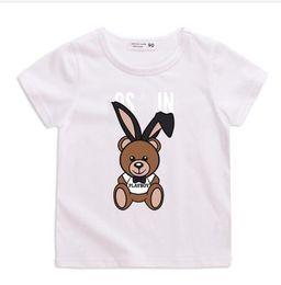 Kids Girls Tee Shirts Australia - Retail - new children brand designer Baby boys girls T-shirts 2019 t shirt Tops children Tees kids Clothing short sleeve shirts