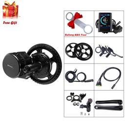 Venta al por mayor de Bafang BBS02B 48V 750W MODO MEDIO MOTOR CONVERSIOM MID MOTOR KIT MOTOR ELECTRICO BICICLE CON LCD C965 Mostrar MTB