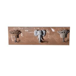 Buy Cheap 1pc Wood Wall Cylinder Shaped Hanger Hooks Decorative Key Holder Hat Scarf Handbag Storage Hanger Bathroom Rack Reputation First black Walnut
