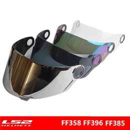 $enCountryForm.capitalKeyWord NZ - LS2 FF358 face shield motocycle helmet sun visor full face UV-Protected helmets lens FF392 anti-scratch External silver glasses